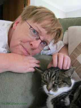 Peanut and Marjorie at Dash Kitten