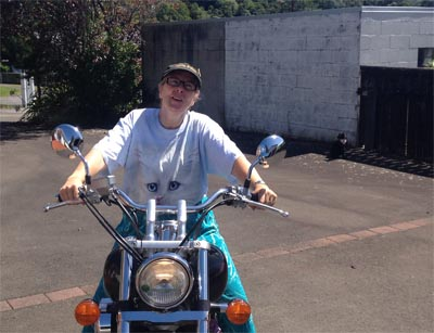 Mom the Motorbike chick