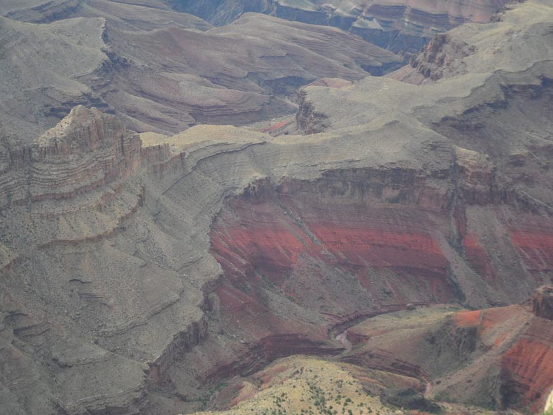 Looking Deep into the Grand Canyon