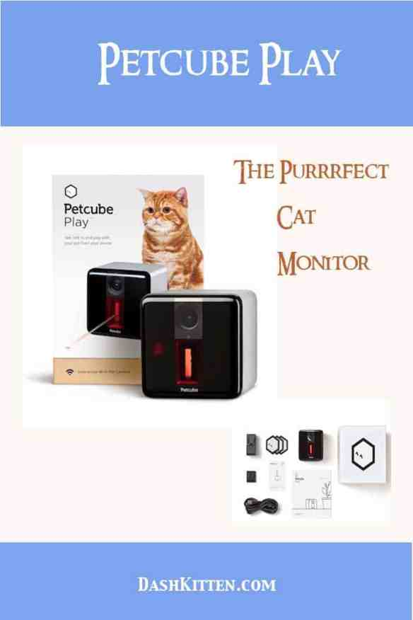 Petcube Play The Perfect Cat Monitor. Keep an eye on your felines from wherever you are. Simple set up, app focused and a lot of fun.