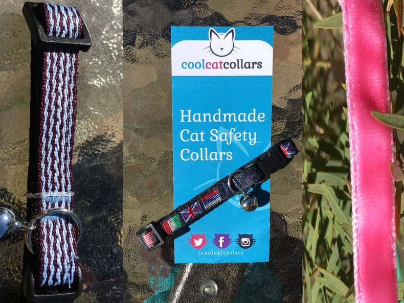 Cat Collars Woven and Velvet Collars