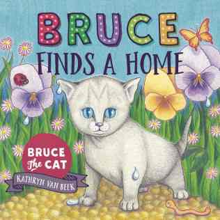 Bruce the Cat Book Kathryn Van Beek