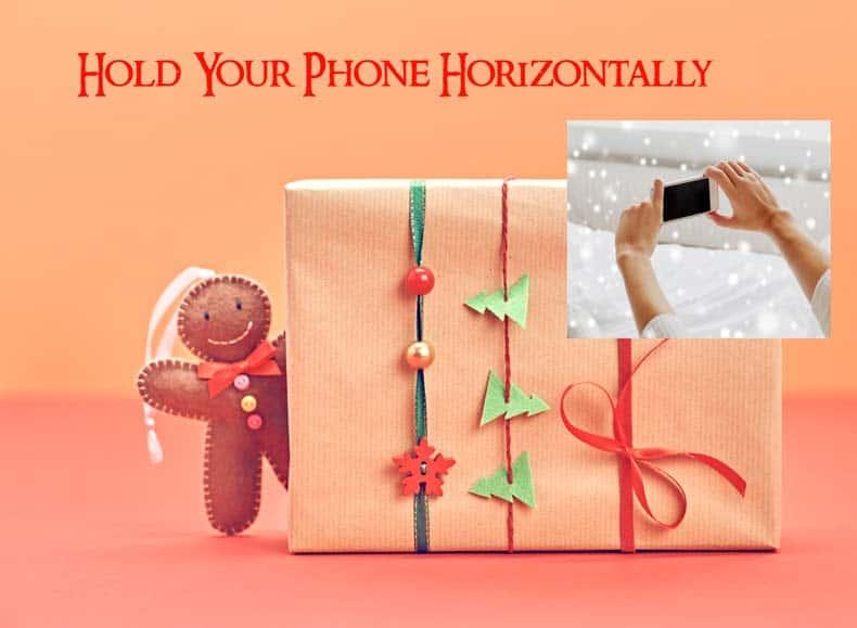 Smartphone movie horizontal