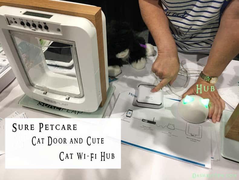 Microchip cat door