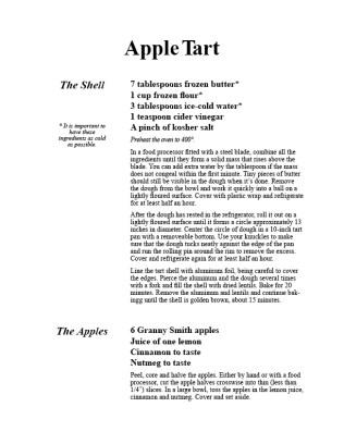 AppleTartLayout