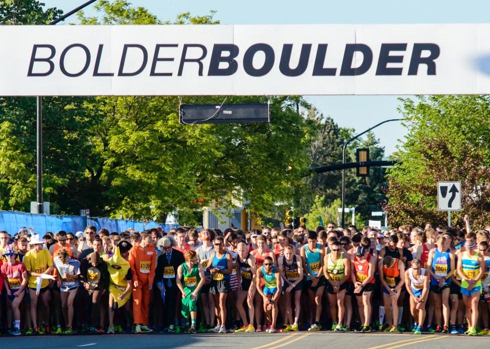 Bolder Boulder qualifying race Dash n Dine 5k