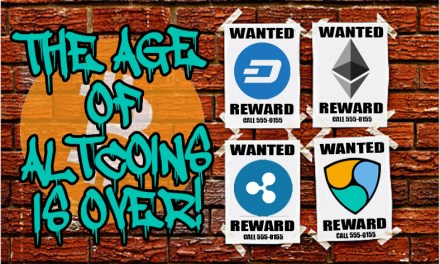 The Age of Altcoins is Over
