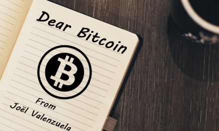 An Open Letter to Bitcoin