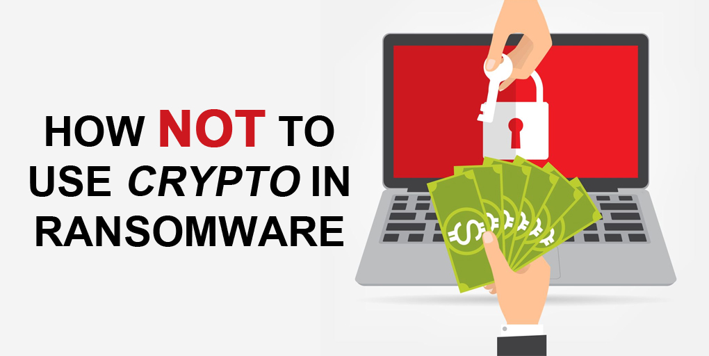 Imbecile's Guide to a Ransomware Attack