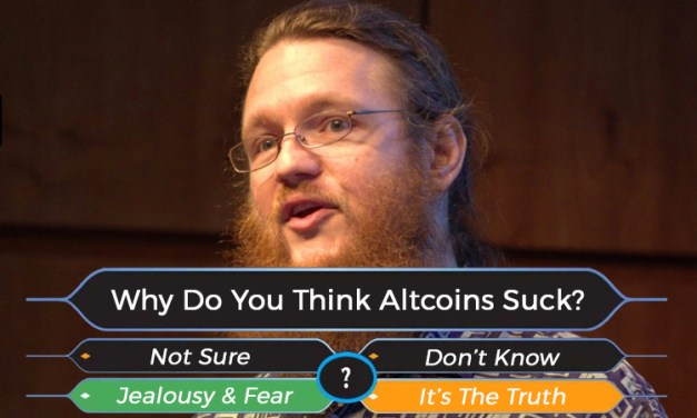 """Greg Maxwell Is Wrong on """"Altcoins,"""" From Several Different Angles"""