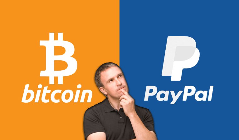 Bitcoin Nears PayPal's Market Cap, Severely Lags in Transaction Volume