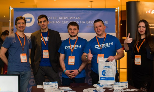 DASH at Blockchain Conference Saint Petersburg 2018