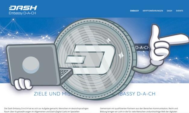 D-A-CH Dash Embassy Advances Dash in Germany, Austria, and Switzerland
