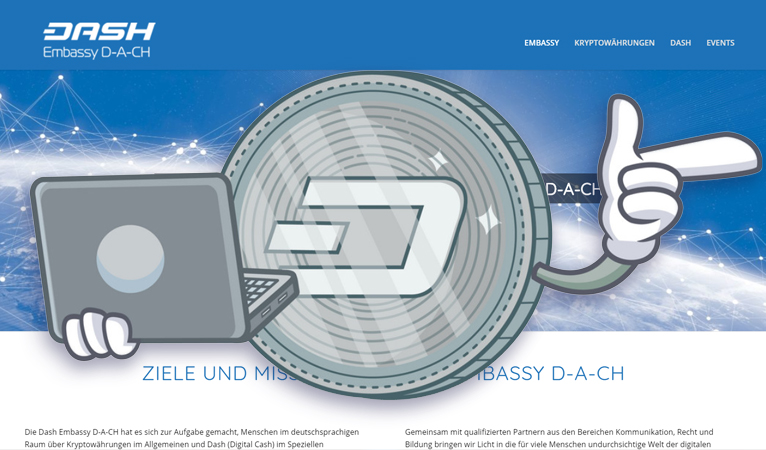 D-A-CH Dash Embassy Advances Dash in Germany, Austria, and Switzerland