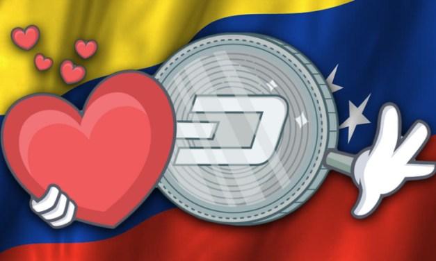 Растёт популярность Dash в Венесуэле