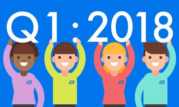 Первый квартал 2018 для Dash: 23 интеграции, десятки партнёрских соглашений