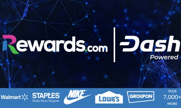 Rewards.com gibt Zusammenarbeit mit Dash bekannt und zahlt Nutzern Boni in Dash aus