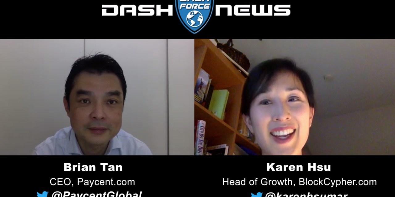Dash-Debitkarte für US-Nutzer! Karen Hsu interviewt Brian Tan, den CEO des Unternehmens Paycent