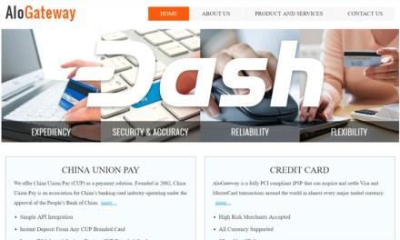 Dash заключает соглашение о сотрудничестве с AloGateway