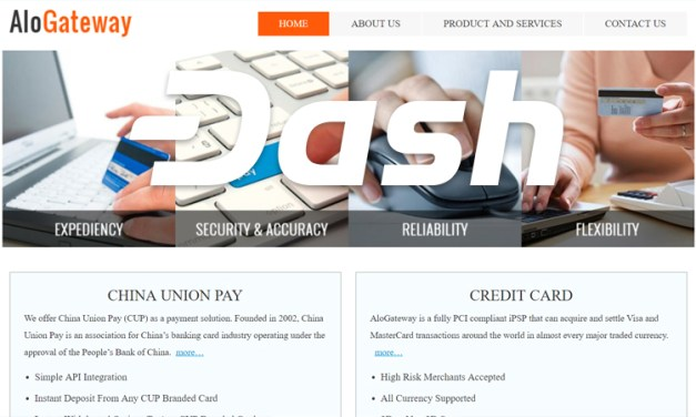 Dash Partners With Global Payment Processor AloGateway