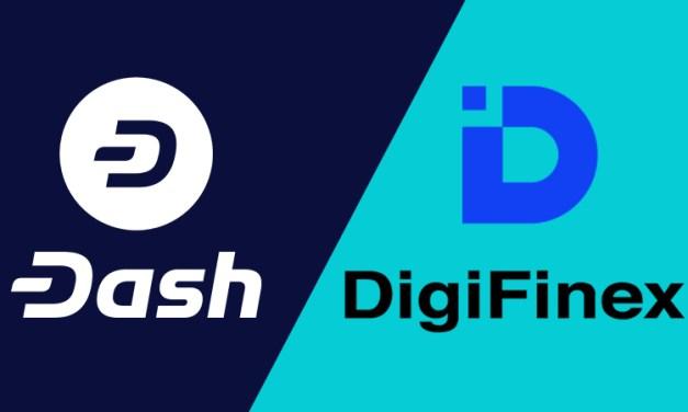 DigiFinex, Casa de Câmbio com Base em Singapura, Integra a Dash e Melhora Liquidez