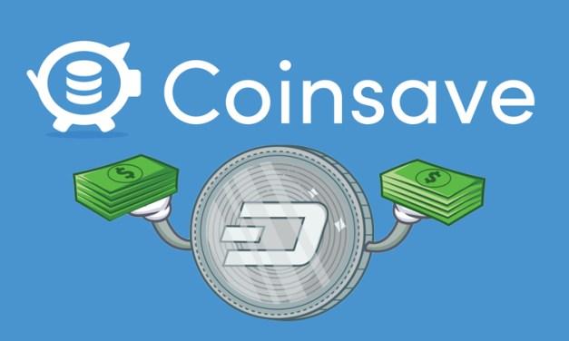 Coinsave Integra a Dash, Melhorando ainda mais Liquidez e Competição