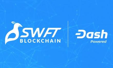 SWFT Blockchain Integrates Dash, Increases Liquidity