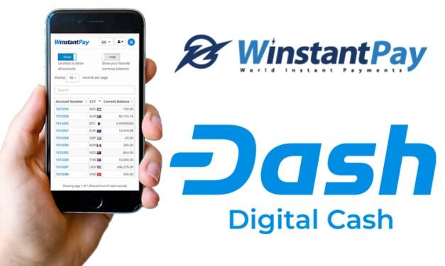 Der Zahlungsdienstleister WinstantPay integriert Dash