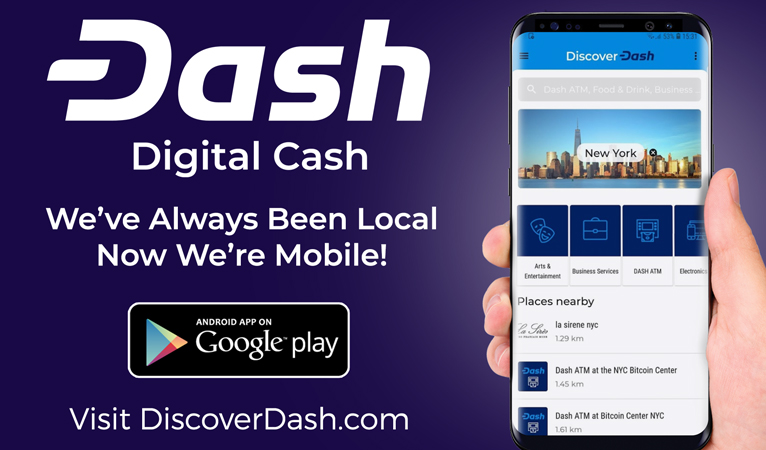 Discover Dash e Really Bad Apps Lançam Aplicativo de Listagem Global de Comerciantes