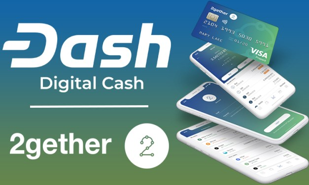 Collaborate Banking App and Debit Card 2gether Adds Dash