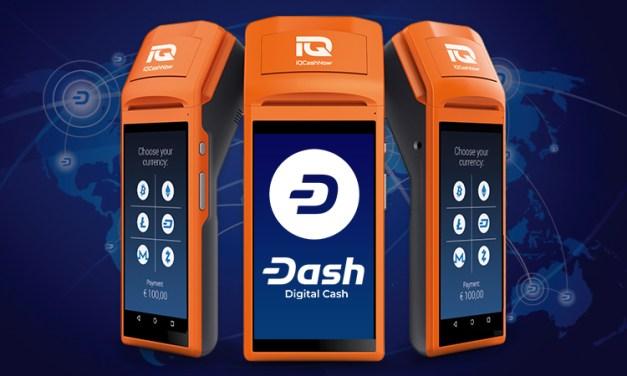 Dash Firma Parceria com o IQ CashNow Agregando 1 000 Novos Comerciantes Dash