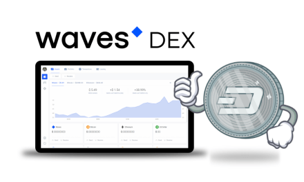Plataforma de tokens Waves agrega a Dash a su exchange descentralizado