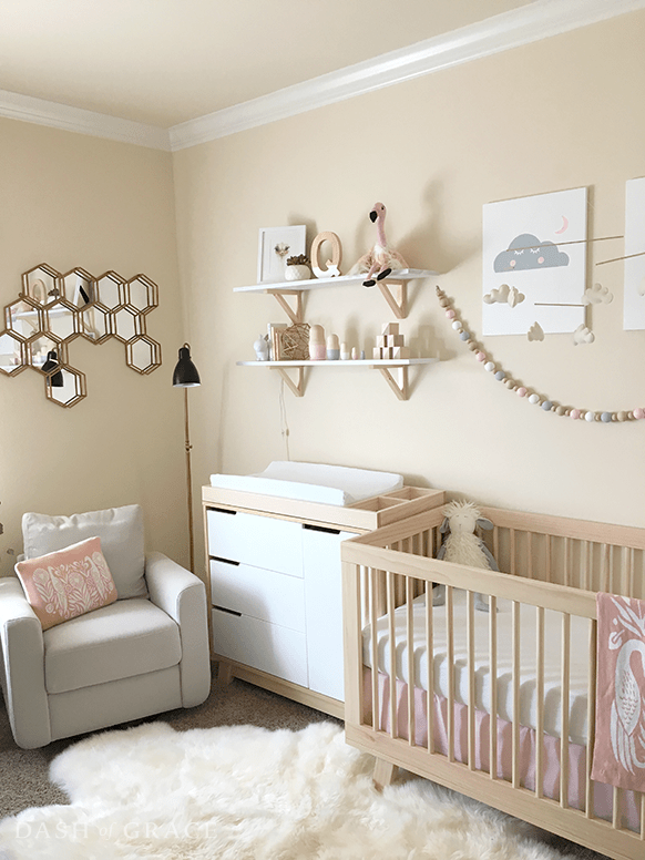 Baby Newman's Nursery Reveal  Dash Of Grace