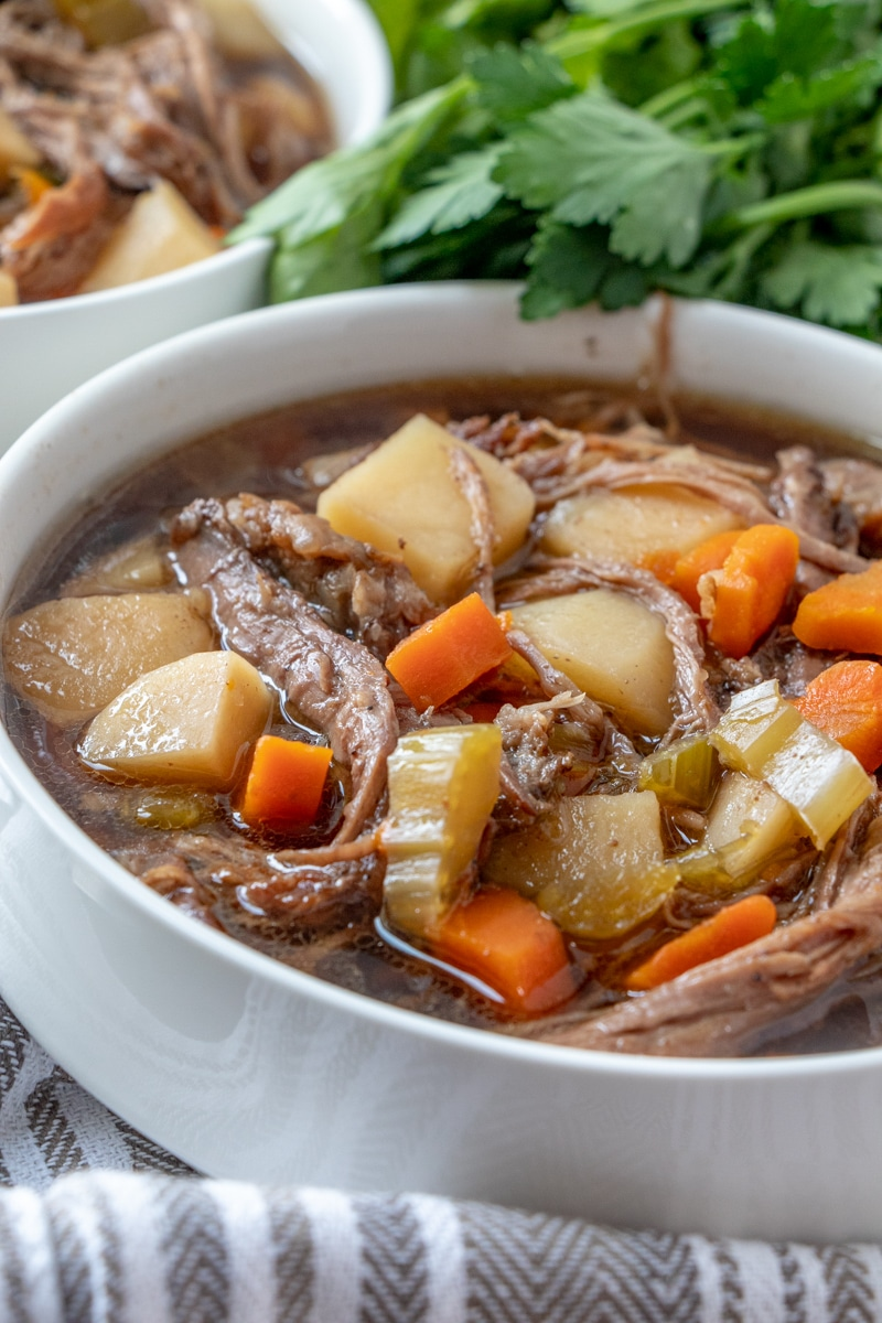 Slow Cooker Easy Beef Stew - Dash of Herbs