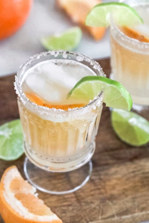 Healthy Paloma Cocktail