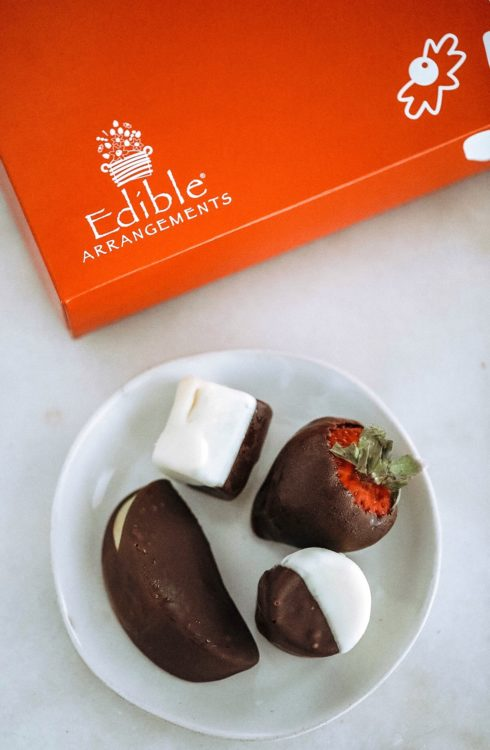 chocolate covered fruit