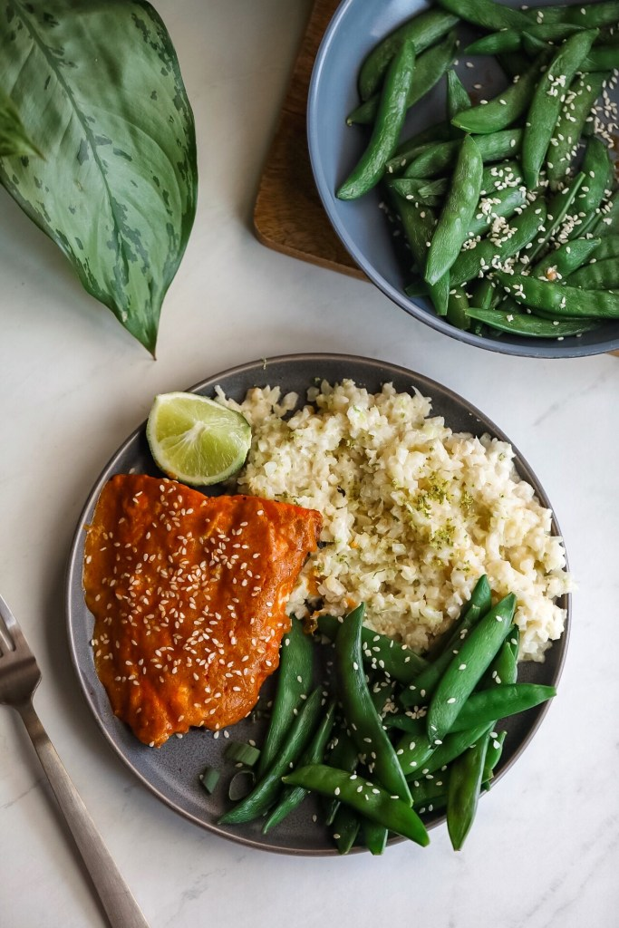 Thai Red Curry Salmon - Dash Of Mandi