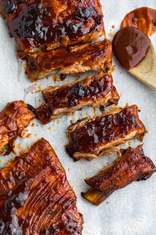 easy baked st. louis ribs