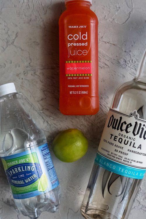 Watermelon Lime Tequila Splash