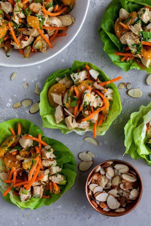 Chinese Chicken Salad | Dash Of Mandi