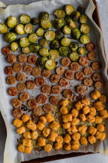 Sheet Pan Sweet Potato Gnocchi