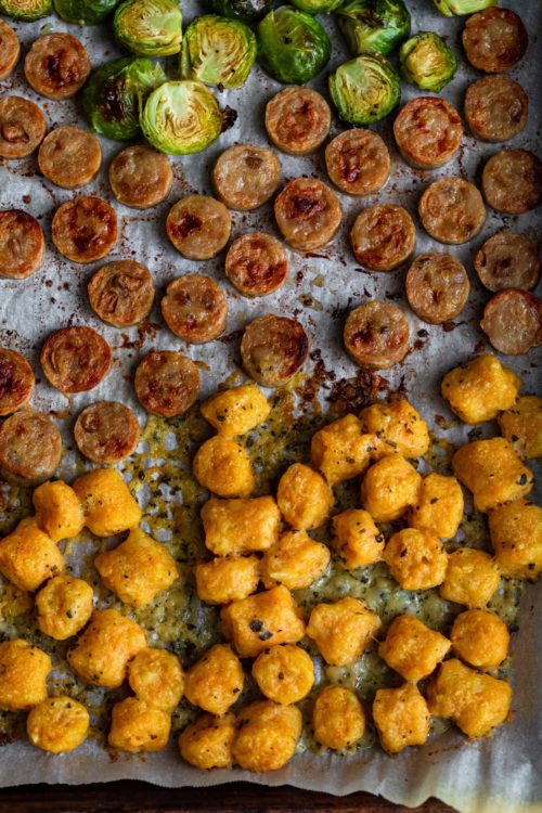 Sweet Potato Gnocchi Dinner