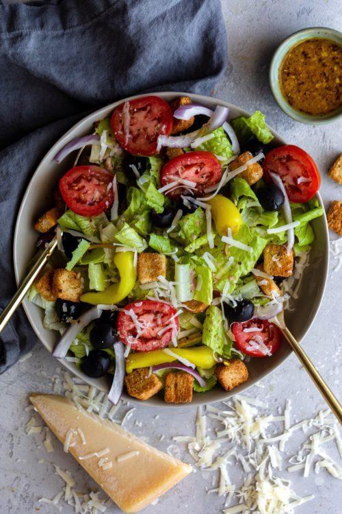 Olive Garden Salad - Dash Of Mandi