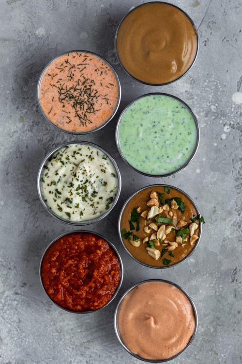 Healthy Dipping Sauces