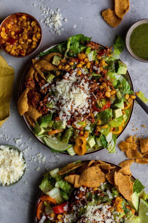 Taco Salad - Dash of Mandi