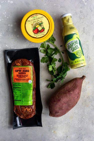Trader Joe's Carne Asada Fries