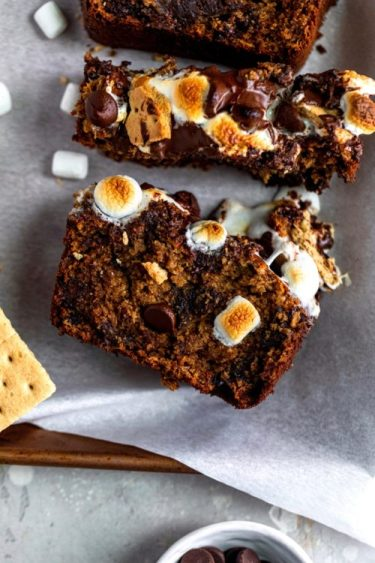 Smores Banana Bread