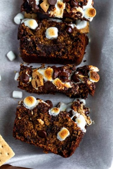 Smores Banana Bread Recipe