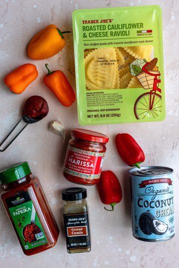 Ravioli Ingredients