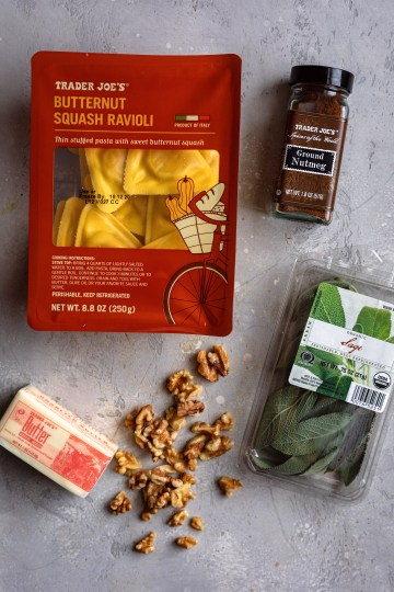 Trader Joe's Fall Ravioli Ingredients